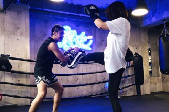 神戸 女性 キックボクシング